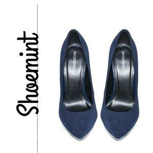 Shoemint Addie Woman's Suede Platform High Heel